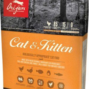 Orijen Cat and Kitten dry food 4 lb