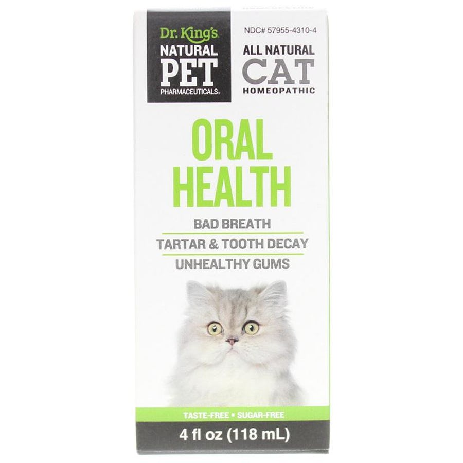 Oral Health for Cats Homeopathic by Natural Pet Pharmaceuticals 4 oz