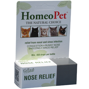 Feline Nose Relief by HomeoPet